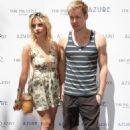 Ashley Benson and Chord Overstreet at the Azure Labor Day Weekend Pool Party at the Palazzo Hotel and Casino in Las Vegas, Nevada on September 1, 2012