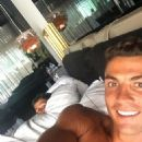 Cristiano Ronaldo works out at home with his boy as Real Madrid prepare for UEFA Super Cup clash in Norway