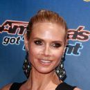Heidi Klum Americas Got Talent Season 10 Red Carpet Event In Hollywood