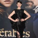 Anne Hathaway attending the premiere of Les Miserables held at the Ziegfeld Theatre in New York City December 10, 2012