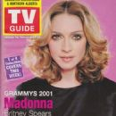 Madonna - TV Guide Magazine Cover [United States] (11 May 2001)