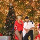 Amber Rose and Maksim Chmerkovskiy Return to Dancing With The Stars at the Grove in Hollywood, California  - November 22, 2016 - 450 x 600