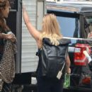 Lucy Liu – Goes to set for her tv show elementary in New York City