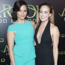 Caity Lotz - October 22 - Celebration Of 100th Episode Of CW's 'Arrow' - 385 x 600