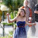 Shenae Grimes and Matt Lanter Film '90210'