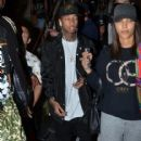 Tyga made his way through Sydney airport, being mobbed by fans ahead of his tour stop in Sydney, Australia on April 9, 2016 - 416 x 600