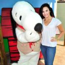 Demi Lovato Celebrates Her Birthday At Knotts Berry Farm In Buena Park