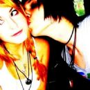 Scout Taylor-Compton and Andy Sixx