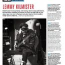 Lemmy - Guitar World Magazine Pictorial [United States] (January 2015) - 447 x 604