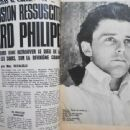 Gérard Philipe - Tele Magazine Pictorial [France] (23 December 1967) - 454 x 340