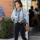 Selena Gomez in Spandex out in Anaheim