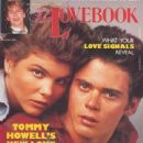 Lori Loughlin, C. Thomas Howell - The Lovebook Magazine Cover [United States] (March 1985)