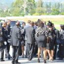 Michael Clarke Duncan's Funeral - 454 x 302