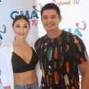 Dingdong Dantes and Solenn Heussaff