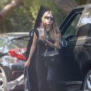 Ashley Benson – Seen at a friend's house in LA