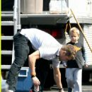 Ryan Phillippe with his son Deacon