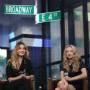 Amanda Seyfried and Lily James – Visit AOL Build Series in NYC