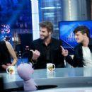 Liam Hemsworth-November 26, 2015-Attends 'El Hormiguero' Tv Show