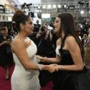 Salma Hayek and Penélope Cruz At The 92nd Annual Academy Awards - Arrivals - 454 x 335