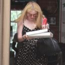 Dakota Fanning kicked off the first day of summer by doing a bit of shopping in West Hollywood