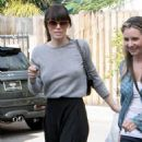 Jessica Biel Out in Hollywood