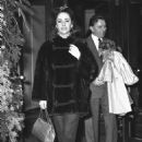 She married Richard Burton in March 1964 and they adopted their daughter Maria that same year. Here, the couple are pictured at the Lancaster Hotel in Paris, where they spent Christmas with their children. Liz was wearing a $6,000 mink ski jacket from Cho