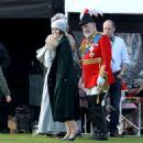 Michelle Dockery – Filming the 'Downton Abbey' in Bath - 454 x 486