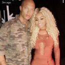Blac Chyna and Jeremy Meeks on the Set of Hip Hop Squares in Los Angeles, California - August 30, 2017