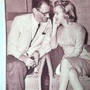 Arthur Miller and Marilyn Monroe - Eiga no tomo Magazine Pictorial [Japan] (October 1956) - 454 x 690