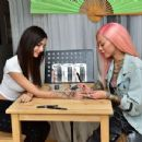Victoria Justice – Getting a Temporary Tattoo in Los Angeles 04/09/2019