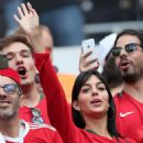Georgina Rodriguez at the Portugal vs Morroco match in Russia
