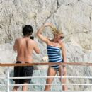 Hofit Golan in Swimsuit at Hotel Eden Roc in Antibes - 454 x 597