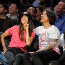 Anthony Kiedis and Helena Vestegaard