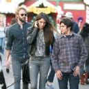 Nikki Reed: shopping at The Grove in West Hollywood