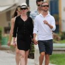 Anne Hathaway Out and About In Ibiza