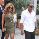 Beyoncé Knowles - Leaving The Tennis Tournament Opening In France - June 6, 2010