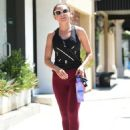 Rachael Leigh Cook – Leaves workout in Studio City - 454 x 621