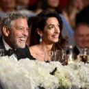 George Clooney and Amal Alamuddin : American Film Institute's 46th Life Achievement Award Gala Tribute - 454 x 286