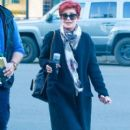 Sharon Osbourne was spotted out shopping at Melrose Place in West Hollywood, California on January 8, 2016 - 400 x 600