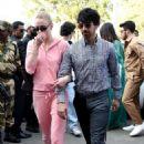Sophie Turner and Joe Jonas – Arrives at Jodhpur Airport in India