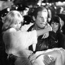 Tanya Roberts and Roger Moore