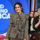 Vanessa Hudgens at Good Morning America in New York