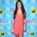 Chloe Bridges at Just Jared's Summer Bash Pool Party in Los Angeles - 454 x 717