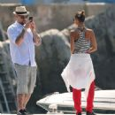 Nicole Richie and Joel Madden: Out on the Water in the South of France