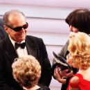 Jack Nicholson attends the 80th Annual Academy Awards