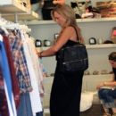 Julie Benz is seen shopping in Beverly Hills, California on August 2, 2016 - 405 x 600