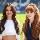Cheryl Tweedy and Nicola Roberts – GAME4GRENFELL charity football match – London - 454 x 303