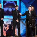 Metallica at the 24th Annual Rock and Roll Hall of Fame Induction Ceremony at Public Hall on April 4, 2009 in Cleveland, Ohio