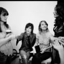 Mia Kirshner, Kate Moennig, Leisha Hailey, and Sarah Shahi. By Jennifer Beals.