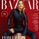 Rosie Huntington-Whiteley in leather for Harper's Bazaar (Taiwan – August 2019)